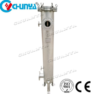 Large Flow Rate Stainless Steel Cartridge Filter Housing