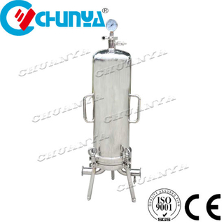 China High Flow Rate Stainless Steel Sanitary Cartridge Filter Housing