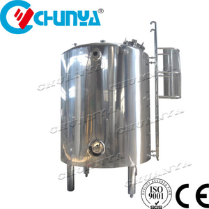 China Steam Electric Heating and Cooling Double Jacketed Stainless Steel SUS304 316 Mixing Tank