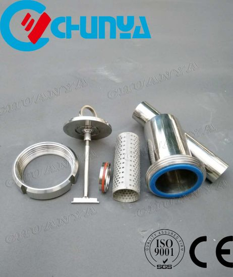 Valve Sanitary Y-Type Stainless Strainer Steel Water Filter Housing