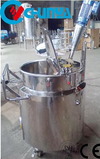 200L Stainless Steel Reaction Kettle with Coil Jacket (tank reactor) Chemical Reactor