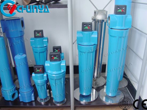 China Industrial Manufacturer RO Pre Filtration H Series Air Filter Housing