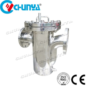 Stainless Steel Basket Type Filter Housing for RO Water Treatment System