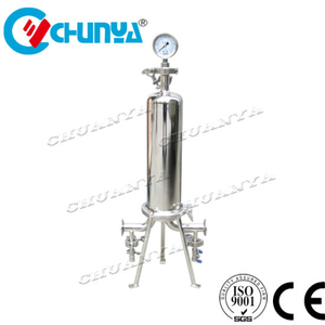 RO System Stainless Steel Cartridge Filter Housing Water Treatment