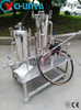 Industrial Stainless Steel Bag Filter Housing with Water Pump
