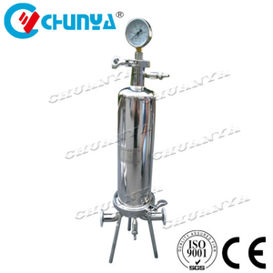 China Manufacturer Chemical Industry Single Cartridge Water Purifier Filter Housing