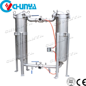 Duplex Parallel Bag Cartridge Filter Housing