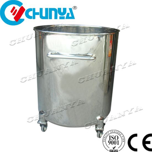 Stainless Steel Polished Water Mixing Tank