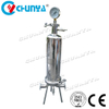 China Stainless Steel Pressure High Flow Single Cartridge Filter Housing