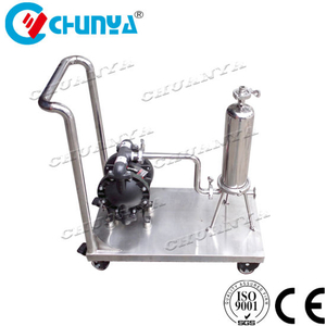 Auto Filter Single Cartridge Filter Housing with Pump