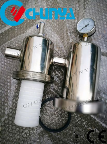 China Manufacturer Stainless Steel Polished Steam Air Cartridge Filter