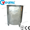 China Industrial Manufacturer High Shear Emulsifying Tank with Scraper Mixer