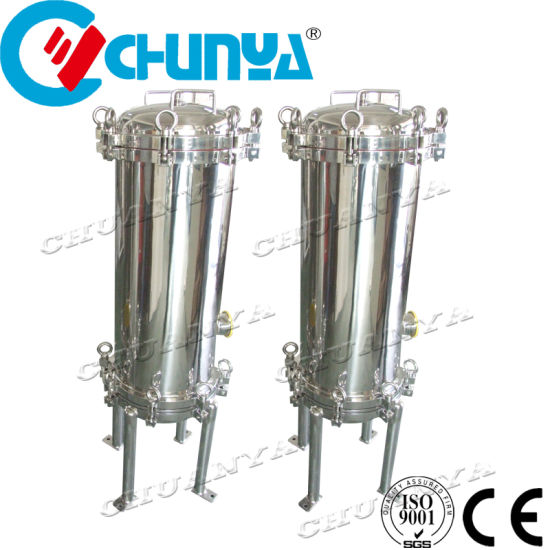 Customized Stainless Steel Multi Cartridge Water Filter with RO System