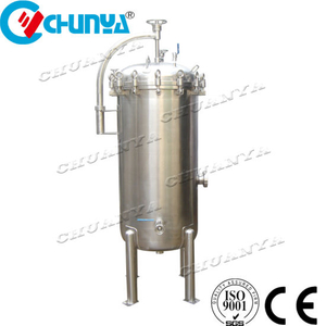 Multi Stage Industrial Stainless Steel Polished Three-Stage Folding Filter Housing