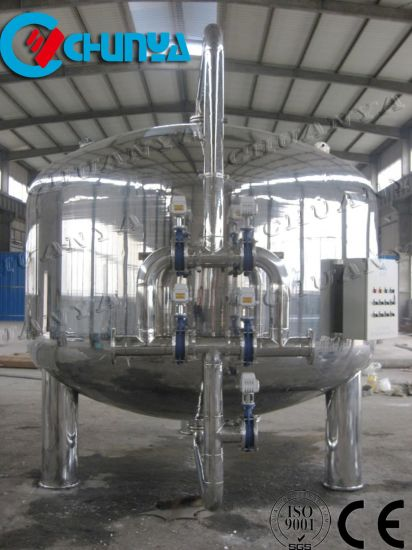 Stainless Steel Mobile Storage Vessel