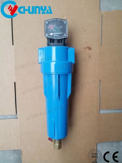 China Industrial Manufacturer H Series Compressed Air Micro Filter Housing